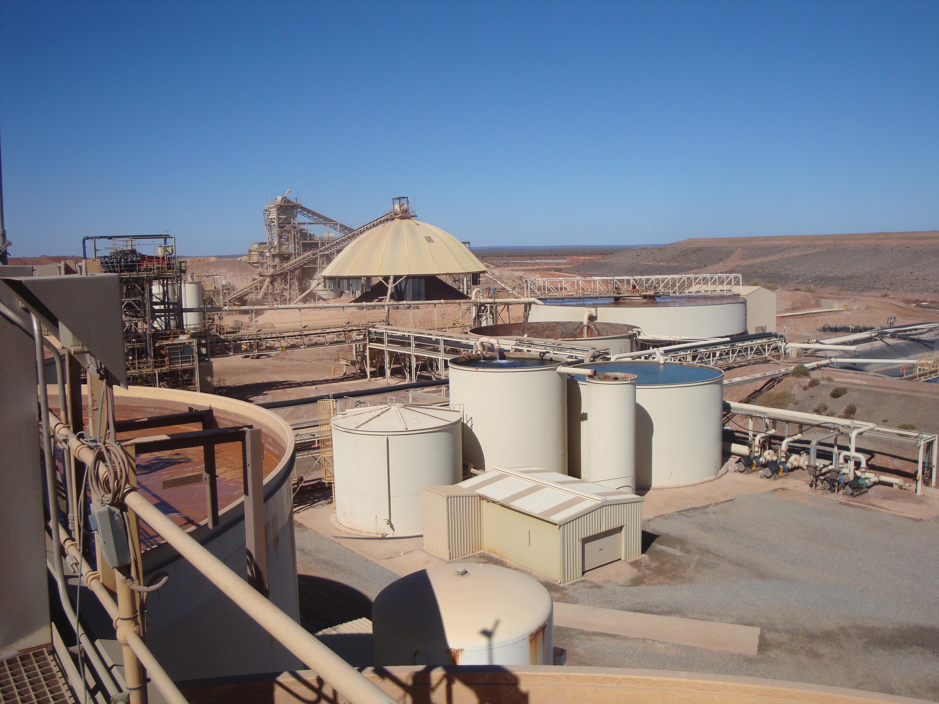 Granny Smith Gold Mine