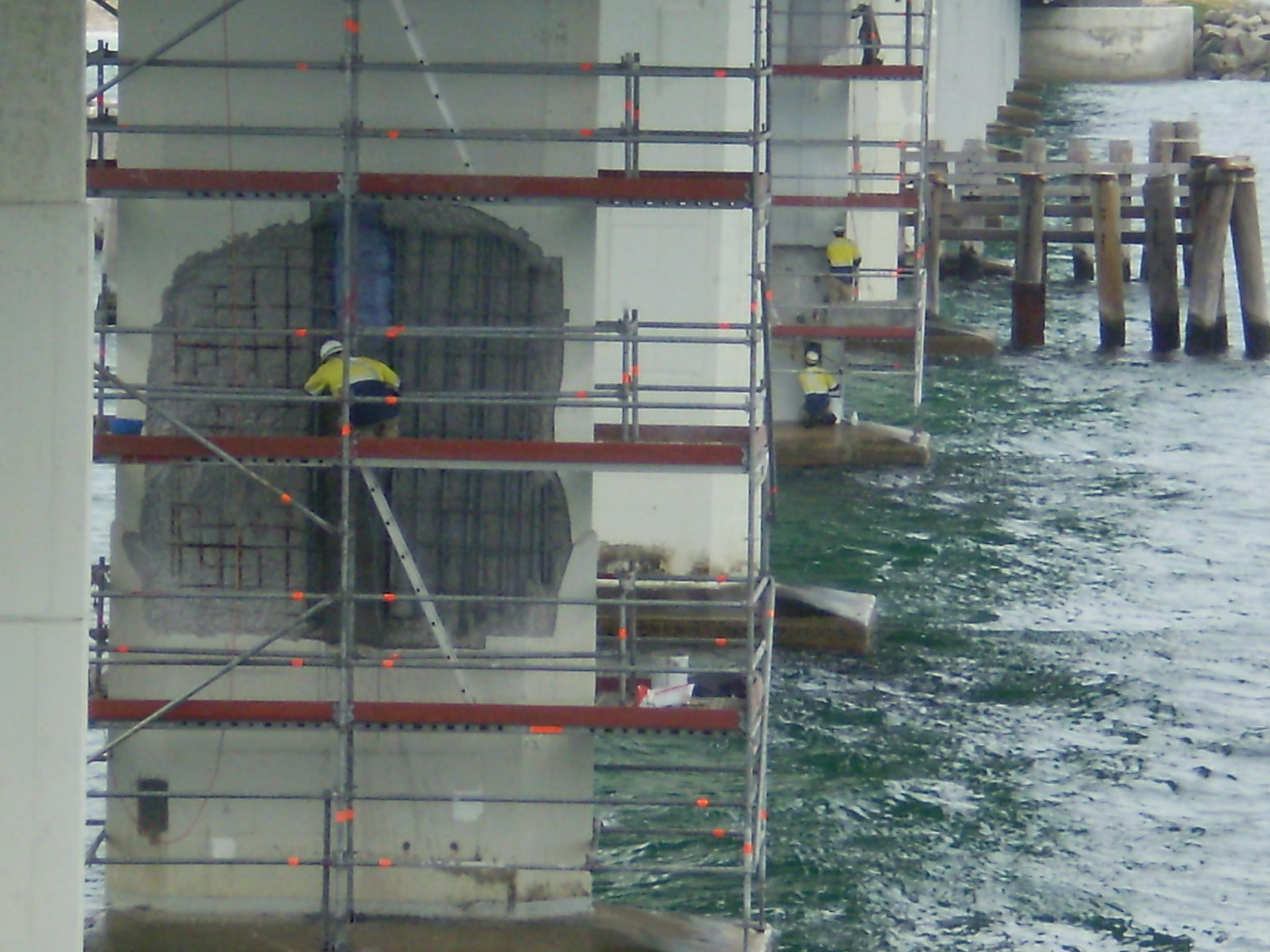 HMAS Stirling Bridge Repair