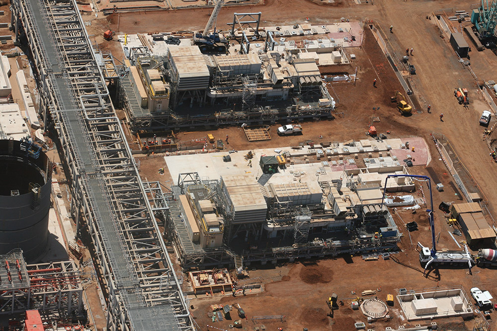 Pluto LNG Project Site B Structural Grouting