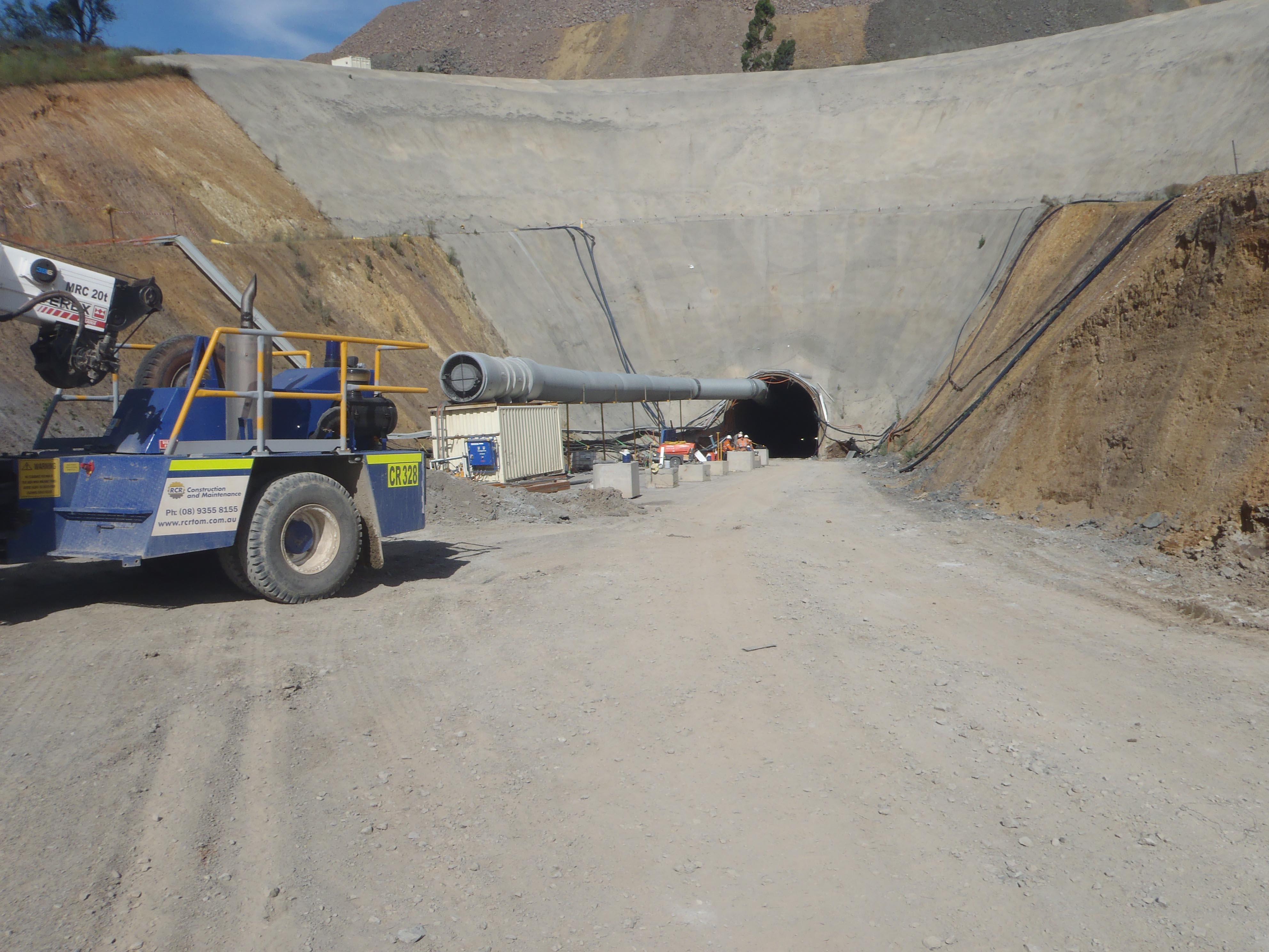 Ridgeway and Cadia Underground Works
